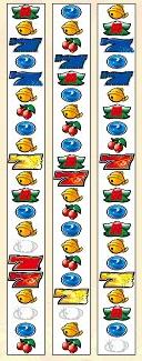 デコトラの鷲:パチスロリール配列