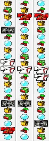 球児2:パチスロリール配列